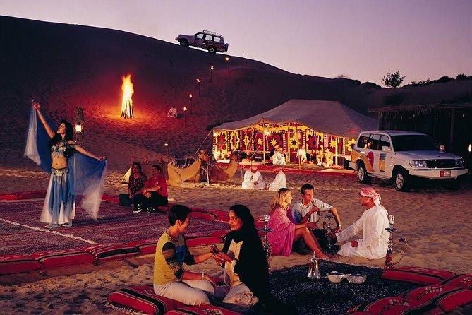 Explore Evening Desert Safari with BBQ and Dance