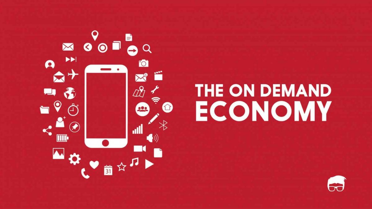 On-demand services benefited by the on-demand economy