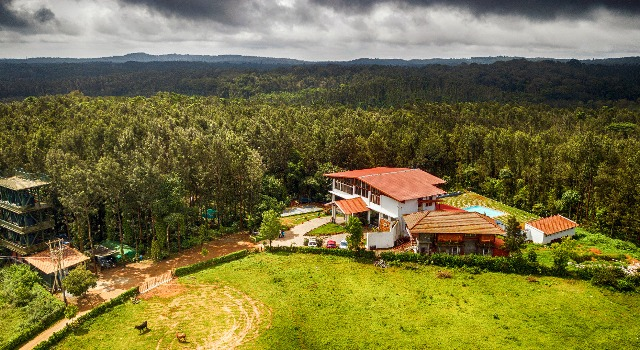 book coffee grove resort Chikmagalur