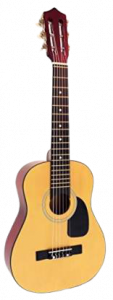 hag250p 1/2 sized classical guitar